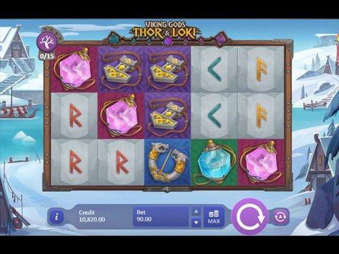 Viking Gods: Thor & Loki Game Preview