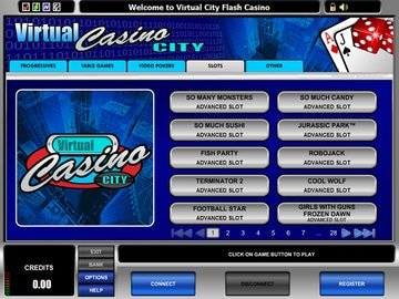 Virtual City Casino Software Preview