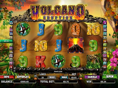 Volcano Eruption Game Preview