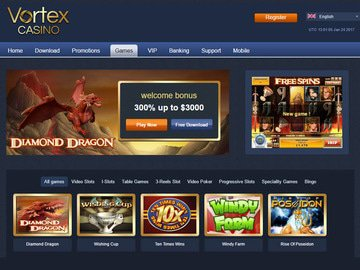 Vortex Casino Software Preview
