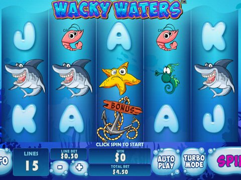 Wacky Waters Game Preview