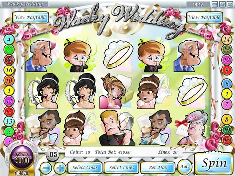 Wacky Wedding Game Preview