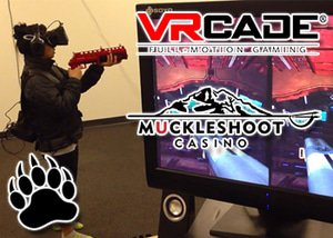 Muckleshoot Casino introduces VRcade virtual reality