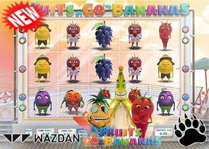 Wazdan New Fruits Go Bananas Slot