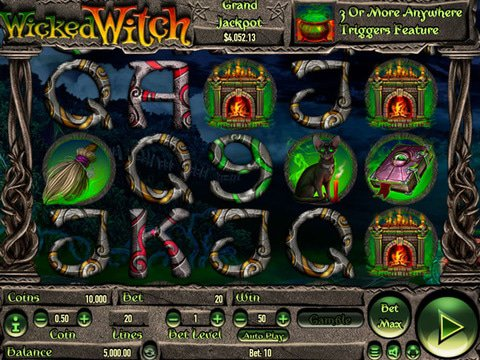 Wicked Witch Game Preview