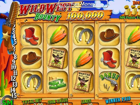 Play The Free Slot Wild West Bounty With No Download