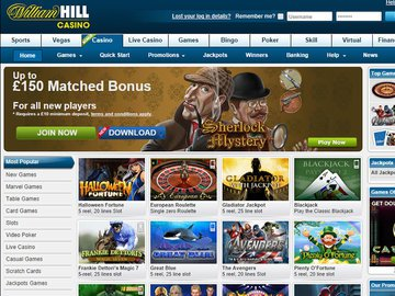 William Hill Casino Software Preview