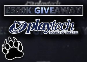 playtech casinos 500k cash giveaway