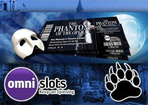 omni casino phantom of the opera bonus trip london