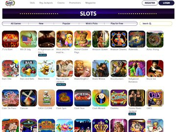 Wink Slots Casino Software Preview