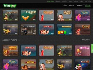 Winoui Casino Software Preview
