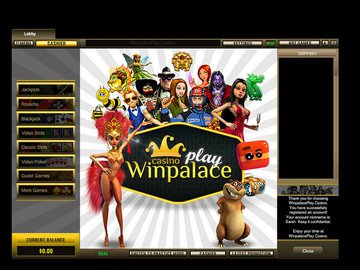Winpalace Play Casino Software Preview