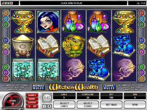 Witches Wealth Game Preview