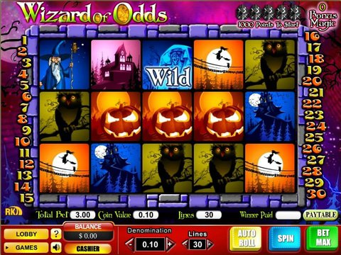 Play the Free Slot Wizard Of Odds With No Download