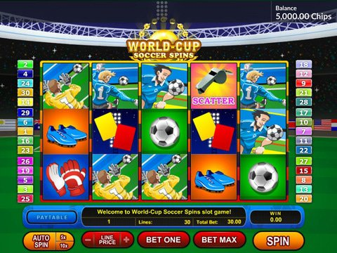 World Cup Soccer Spins Game Preview