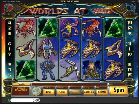 Play Hero War slot machine free with no regstration