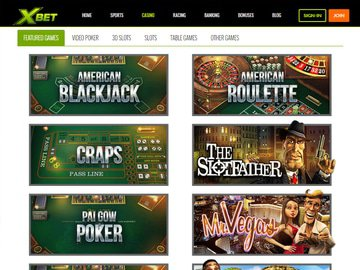 Xbet Casino Software Preview