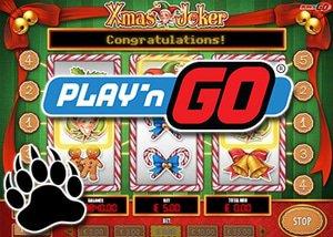 Play'n Go Xmas Joker game!