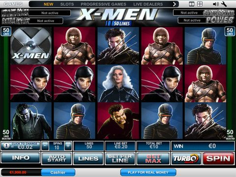 XMen 50 Lines Game Preview