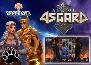 Yggdrasil Gaming's new Age of Asgard Slot