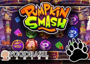 new pumpkin smash slot yggdrasil casinos