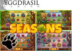 yggdrasil's new slot - Seasons