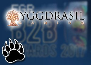 slot provider of the year goes to yggdrasil
