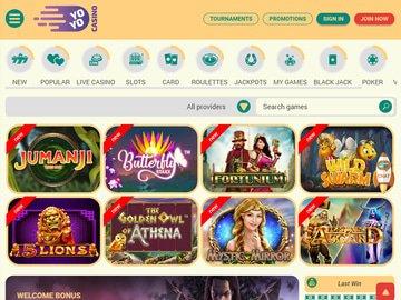 Yoyo Casino Software Preview