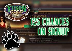 Yukon Gold Casino Login Page