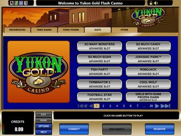 Yukon Gold Casino Software Preview