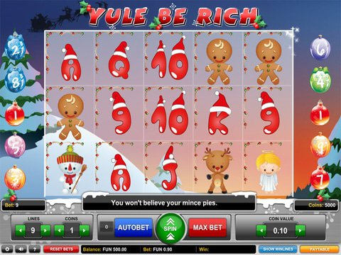 Yule Be Rich Game Preview