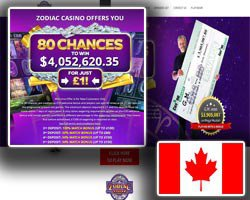 zodiac casino welcome bonus and promotions