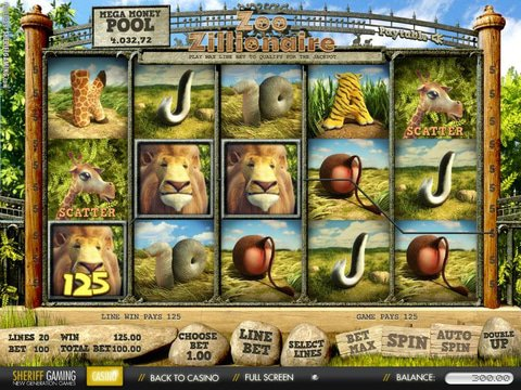 Zoo Zillionaire Game Preview